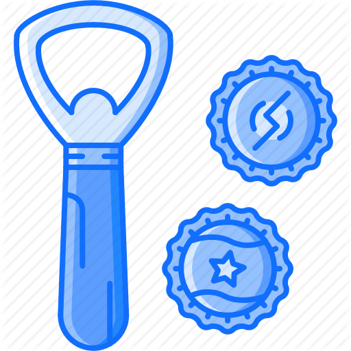 Bar, Bottle, Cap, Club, Opener, Party Icon