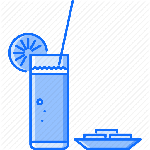 Bar, Club, Glass, Juice, Orange, Party, Straw Icon