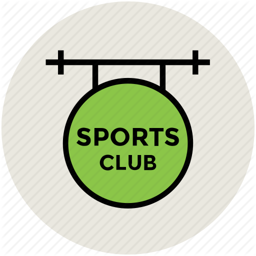 Club, Signboard, Sports, Sports Club Icon
