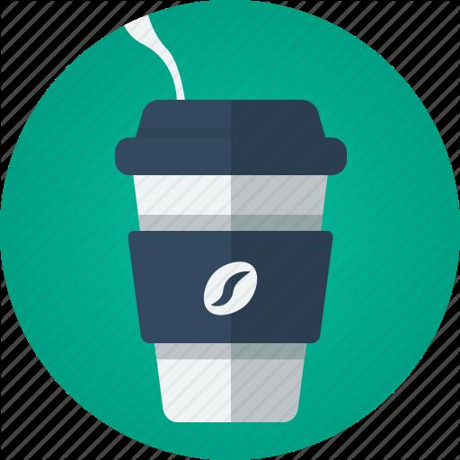 Coffee, Drink, Hot Drink, Smoke, Takeaway, Takeaway Coffee Icon