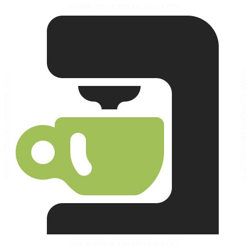 Coffee Machine Icon Iconexperience