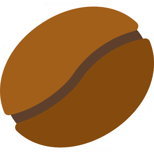 Iconexperience G Collection Coffee Bean Icon