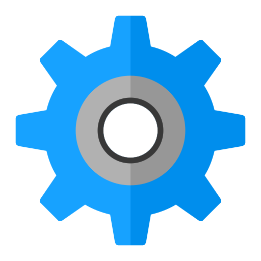 Cog, Flat Icon Free Of Snipicons Flat