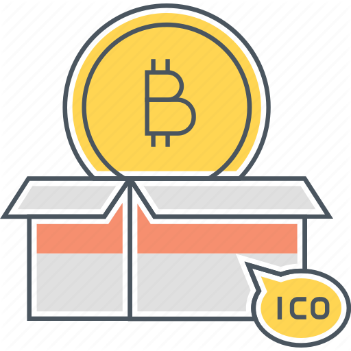 Bitcoin, Cryptocurrency, Initial Coin Offering Icon