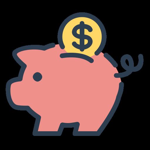 Coin, Money, Piggy, Resolutions, Save Money, Savings Icon Free