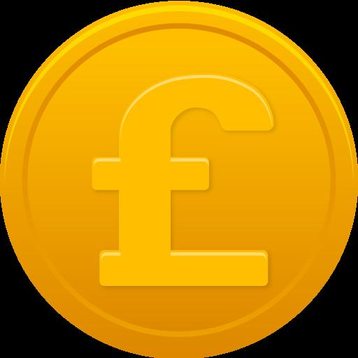 Coin Pound Icon
