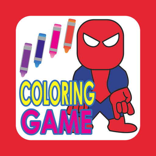 Coloring Book For Spider Man