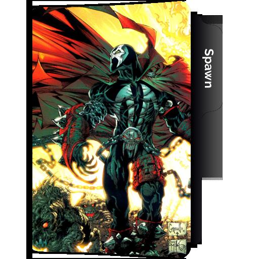 Comic Book Folder Icons
