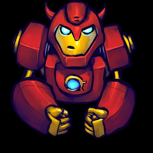 Comics Hero Red Icon Ultrabuuf Iconset Mattahan