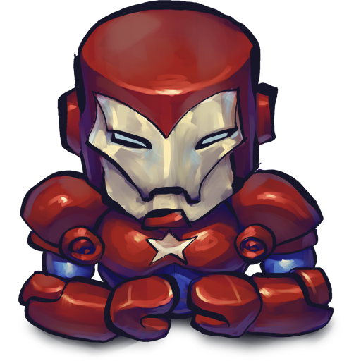 Comics Ironman Patriot Icon Ultrabuuf Iconset Mattahan