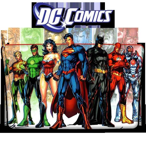 Dc Comics Folder Icon