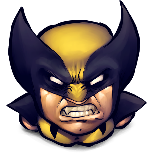 Comics, Logan Icon Free Of Ultrabuuf Icons
