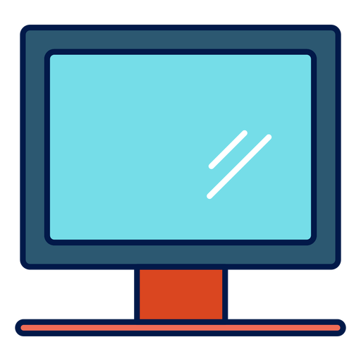 Computer Monitor School Icon
