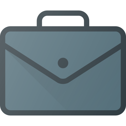 Luggage, Work, Office, Suitcase, Brief, Case Icon Free Of Free Set