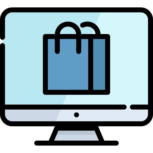 Monitor Shopping Bag Png Icon