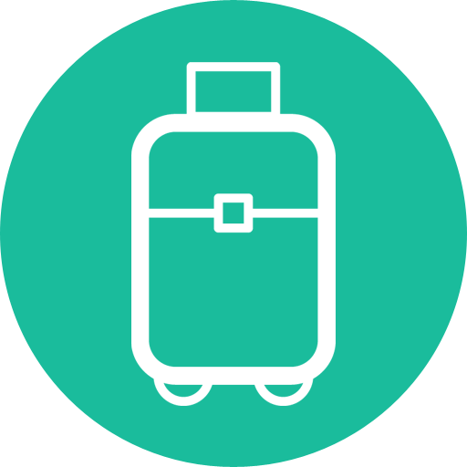 Suitcase Travel Flat Design Travel Icon Png Suitcase Png Suitcase