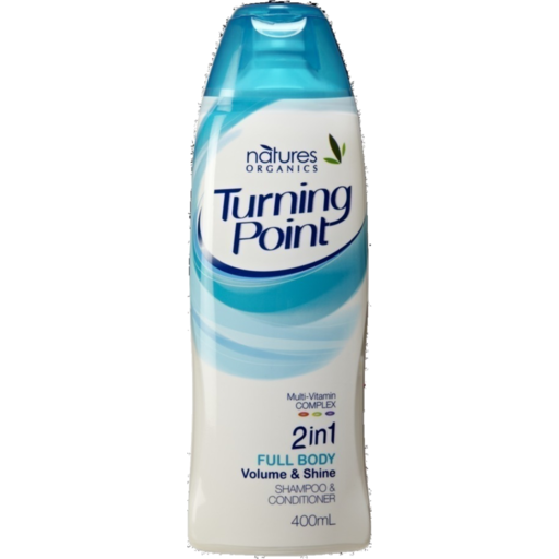 Natures Organics Turning Point Shampoo Conditioner In Full