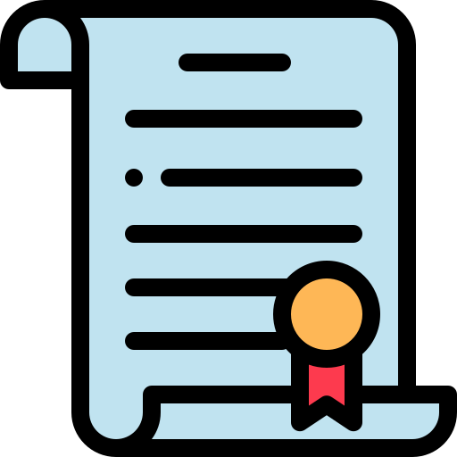 Contract, Document, Paper Icon Free Of Banking Vol