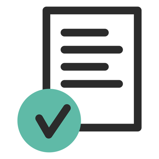 Signed Contract Icon