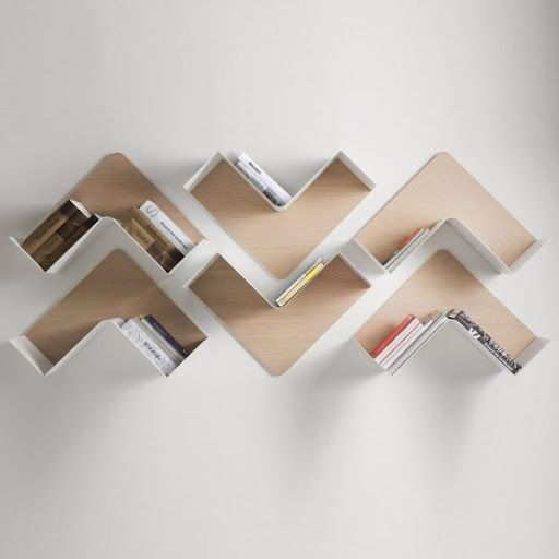 Unique Wall Shelves That Make Storage Look Beautiful