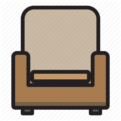Furniture, Household, Livingroom, Sofa Icon