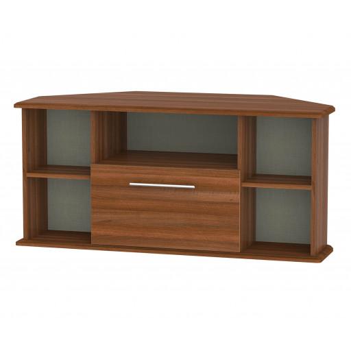 Furniture Sherwood Noche Walnut Door Storage Unit