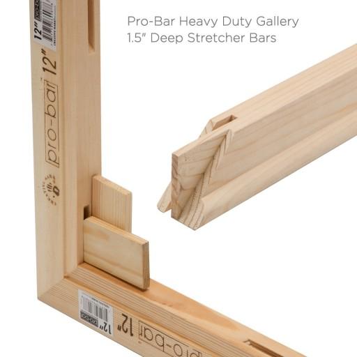 Pro Bar Heavy Duty Gallery Deep Stretcher Bars