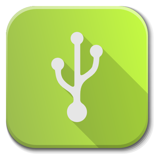 Apps Usb Creator Icon Flatwoken Iconset Alecive