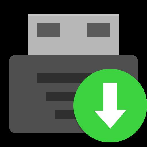 Usb Creator Icon Papirus Apps Iconset Papirus Development Team