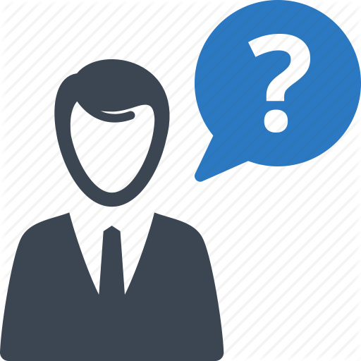 Contact Us, Customer Service, Question Icon