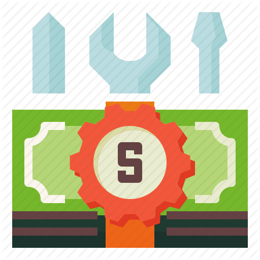 Accounting, Customized, Tools Icon