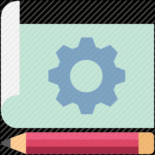 Cogwheel, Customized, Drafting, Papers, Seo Campaign, Settings
