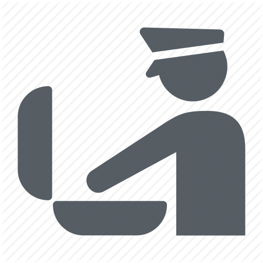Airport, Customs, Inspection, People, Suitcase, Travel Icon