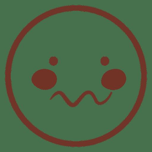 Cute Meow Emoji Icon