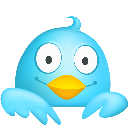 Cute Twitter Icon Png