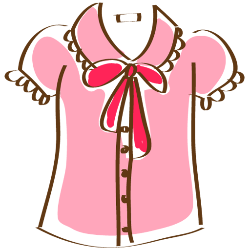 Cute Pink Shirt Icon Free Icons Download
