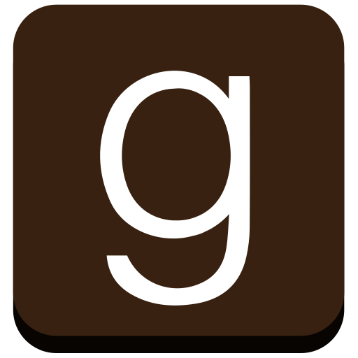 Goodreads, Square, Dark, Icon Free Of Goodreads Icons