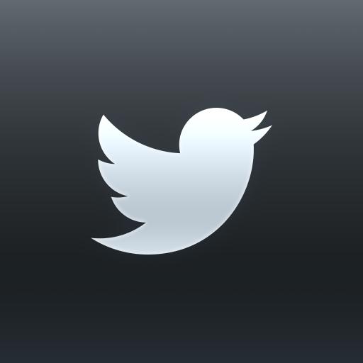 Twitter Dark Icon