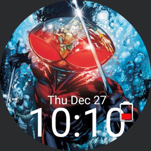 Black Manta Aquaman Villain Dc Comics For G Watch R
