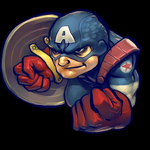Comics, Captain, America Icon Free Of Ultrabuuf Icons