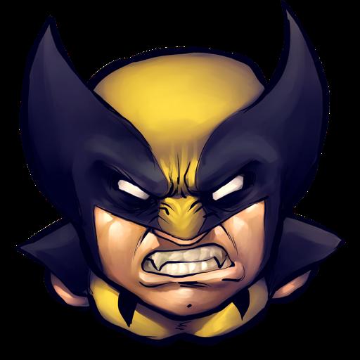 Comics Logan Icon Ultrabuuf Iconset Mattahan