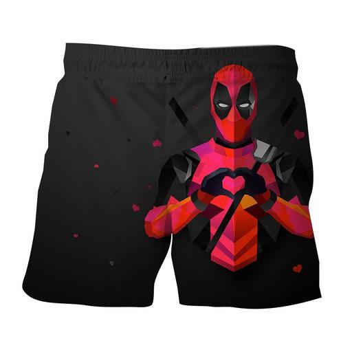 Cool Superheroes Boardshorts Swimming Trunks Superheroes Gears