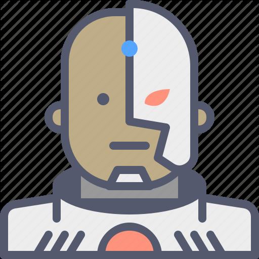 Cyborg, Dccomics, Hero, Movie, Superhero Icon
