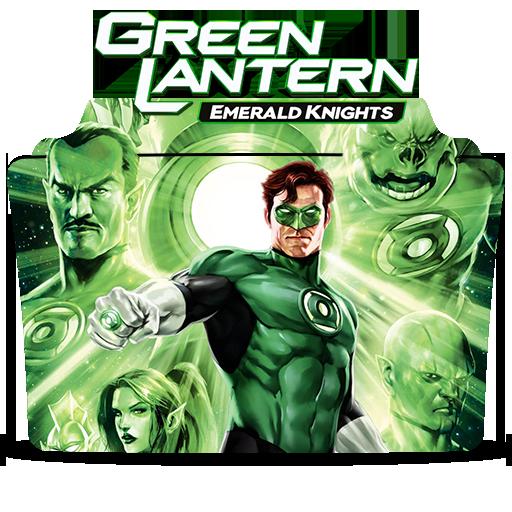 Green Lantern Emerald Knights Icon Folder