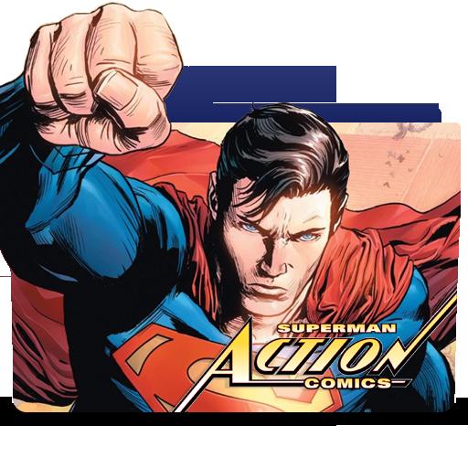 Action Comics Superman Rebirth Icon Folder