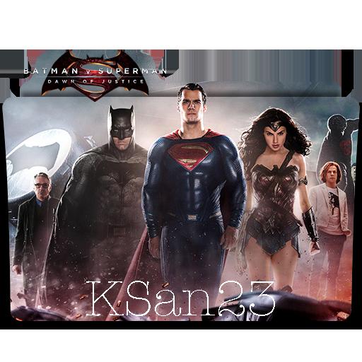Batman V Superman Dawn Of Justice Icon