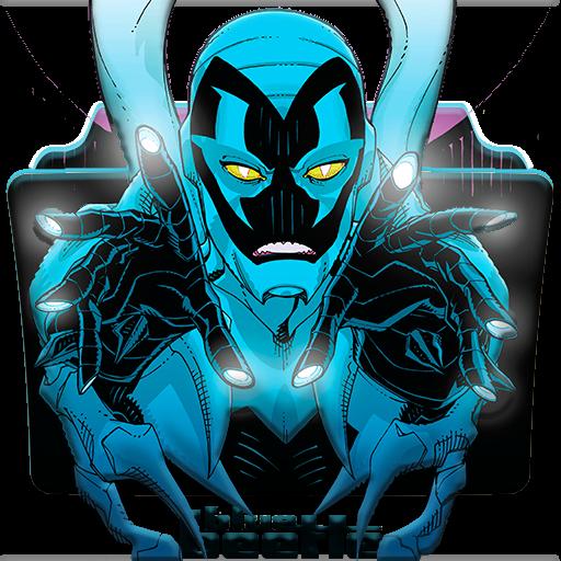 Blue Beetle Folder Icon