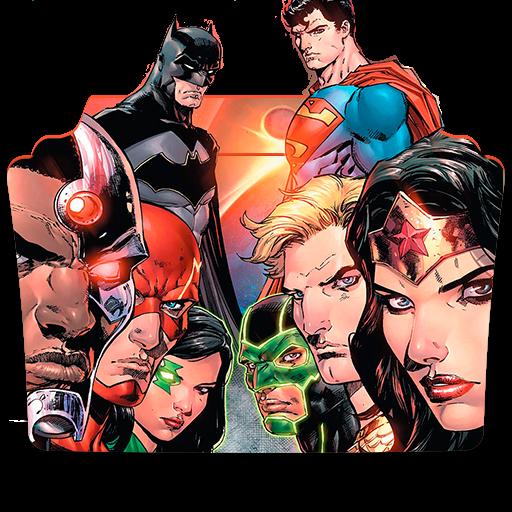 Justice League Rebirth Folder