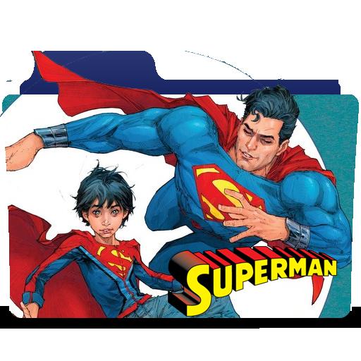 Superman Rebirth Icon Folder