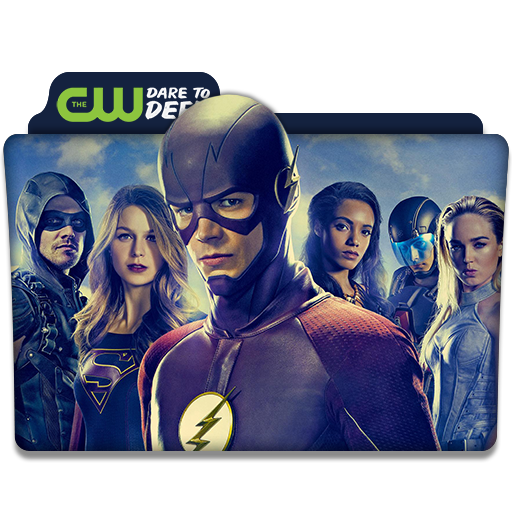 Cw Superhero Collection Tv Series Folder Icon